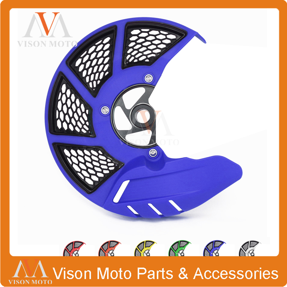 Front Brake Disc Rotor Guard Cover For HUSQVARNA TC FC 2014 TE FE 2014 2015 125 150 200 250 300 350 400 450 500 501 TC125 FE250 motorcycle front rider seat leather cover for ktm 125 200 390 duke