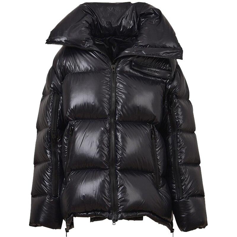 Coréenne Veste Le Puffer Vers De Kj1016 Black Chamarras red D'hiver Parkas Bas Manteaux 2018 Chaud Mujer Parka Ayunsue Coton Femmes nq8wXRY8z