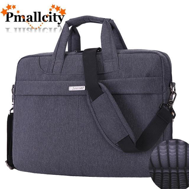 FOPATI Laptop bag 15.6 15 14.1 14 inch Nylon airbag men computer bags  fashion handbags Women shoulder Messenger notebook bag 8c1eaea23