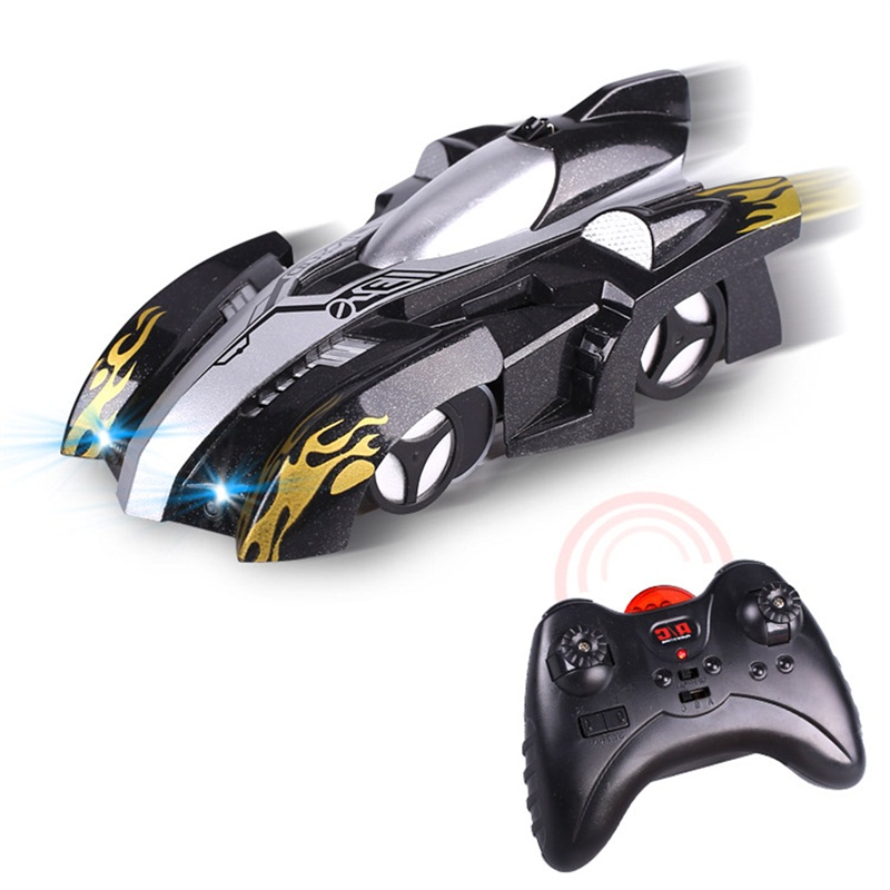Image 4 - Wireless Electric Remote Control  Drift Flashing Race Toys for Baby Kids Children RC Wall Climbing Car Toy Model Bricks Mini-in RC Cars from Toys & Hobbies