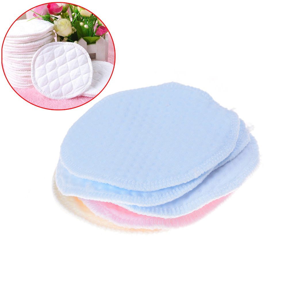 12pcsLot Reusable Nursing Breast Pads Washable Soft Absorbent Baby Breastfeeding