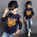 2016 New Spring Autumn Boys Kids Sweater Tiger Pullover Sweaters Boys Knitted Boys Cardigan Sweater Winter Children Clothing