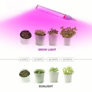 Image 5 - USB przenośne oświetlenie LED do uprawy DC5V 3W 5W lampa fito pełne spektrum kryty pulpit cieplarnianych hydroponicznych kwiat roślina rosną siewu