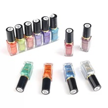 6ml nail mirror metal polish stainless steel silver effect European and American style