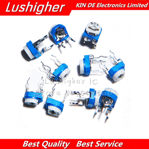 20pcs RM065 RM-065 Series 100 200 500 1K 2K 5K 10K 20K 50K 100K 200K 500K 1M Ohm Trimpot Trimmer Potentiometer Variable Resistor