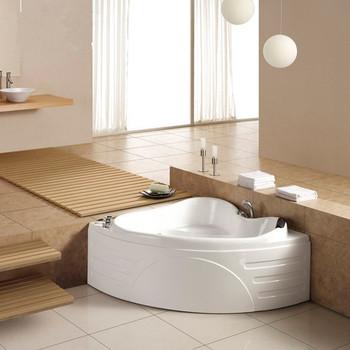 Luksusowa wanna do masażu w łazience małe wanny (M-2008) tanie i dobre opinie Wolnostojące Akrylowe W zestawie Combo masaż (air whirlpool) Rogu 1 5 m WHITE CE ISO9001 CQC RoHS ETL Reach ISO9001 SAA
