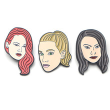K51 Riverdale figure art Enamel Pins and Brooches for Women Men Lapel pin backpack bags badge Gifts(China)