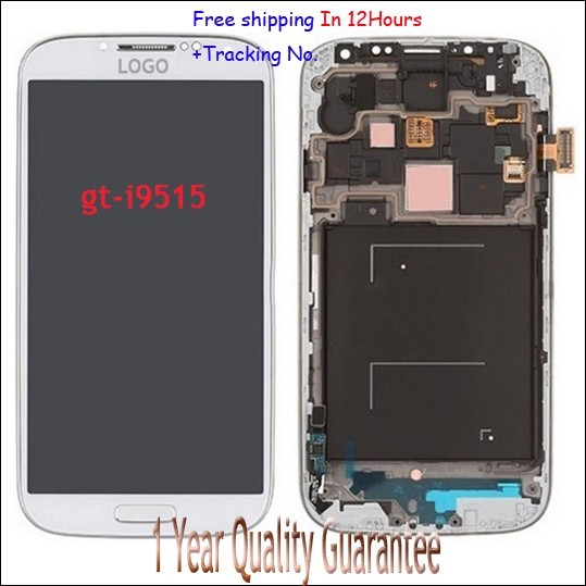100% guarantee Original New For Samsung Galaxy S4 I9515 i9505 i9506 Touch screen Panel Digitizer LCD display with frame