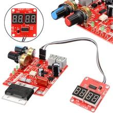 NY-D01 100A точечная сварочная машина панель управления регулирование времени и тока цифровой дисплей точечная сварка трансформаторный контроллер