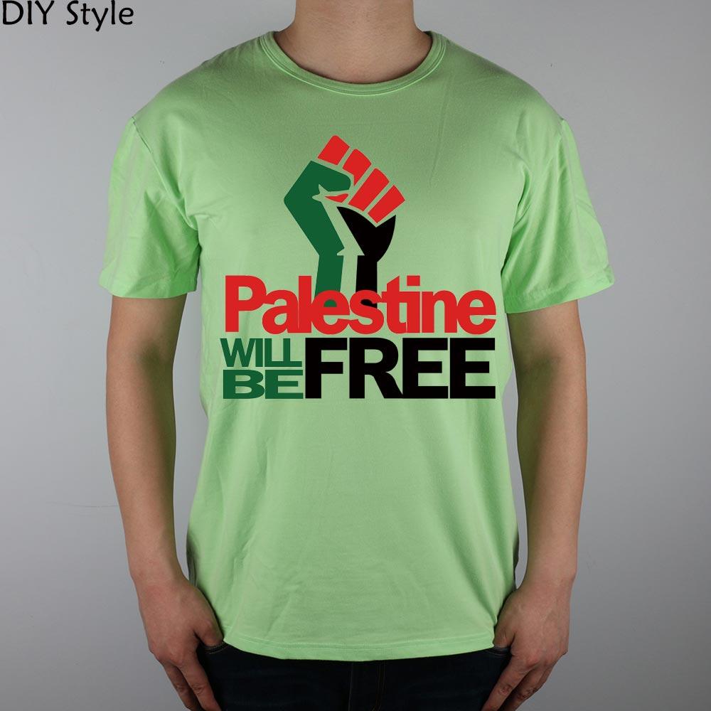 PALESTINE LIBERARÁ hombres palestinos camiseta de manga corta 2078 - Ropa de hombre - foto 3