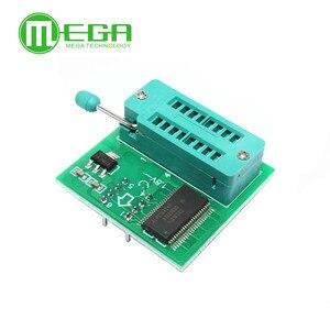 Image 2 - 1.8V adapter do płyty głównej 1.8V SPI Flash SOP8 DIP8 W25 MX25 używać na programistów TL866CS TL866A EZP2010 EZP2013 CH341 dla majsterkowiczów