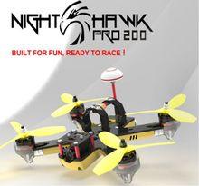 Emax Nighthawk Pro 200 200mm F3 Balap Drone FPV PNP dengan 5.8G 48CH 25-200 mW VTX 600TVL CCD Kamera