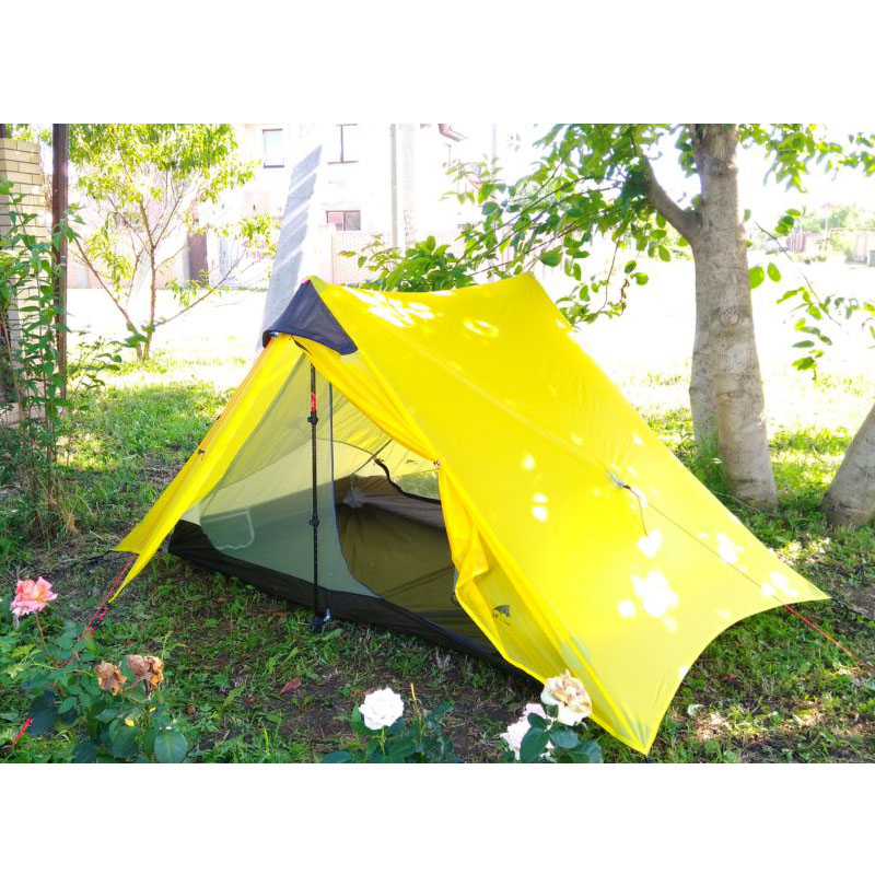3f ul gear lightweight outdoor 2 person 1 Person ultralight camping tent non ploe barraca de acampamento barracas para camping high quality outdoor 2 person camping tent double layer aluminum rod ultralight tent with snow skirt oneroad windsnow 2 plus