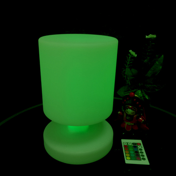 D170*H255mm SK-LF06C LED Table Lamps 16 Colour With 24 keys Remote Controller IP65 for Home Bar Decoration free shipping 1pc