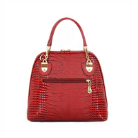 2018 new Fashion PU leather Alligator bag ladies tote Shoulder bag handbags women famous brands Bag W0136