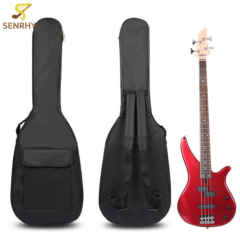 Classic Soft Oxford Cloth Acoustic Electric Guitar Bass Case Bag Holder With Double Padded Straps 40 41 Inch Guitar Accessories 40 41 soft acoustic guitar bass case bag cc apb bag acoustic guitar padded gig bag with double padded straps and backpack
