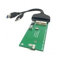 For USB 3.0 to Macbook Air 2011 2012 SSD & USB 3.0 to SATA 22pin 2.5″ Hard Disk Drive External PCBA