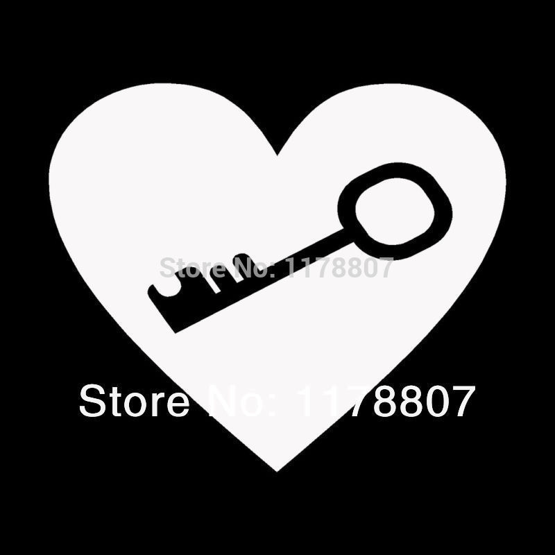 Online Get Cheap Cute Couple Car Stickers And Decals Aliexpress - Couple custom vinyl decals for car