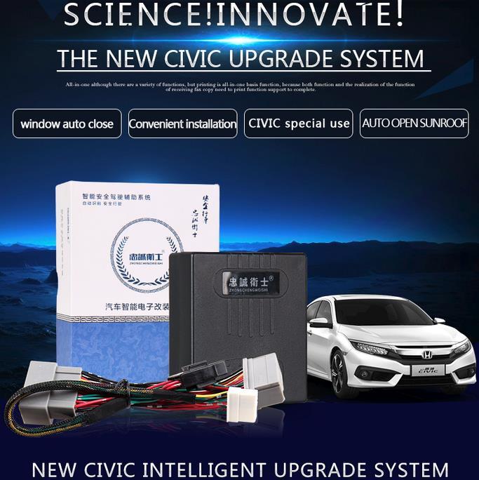 Car Auto smart Window closer door speed lock sunroof closer for New CIVIC