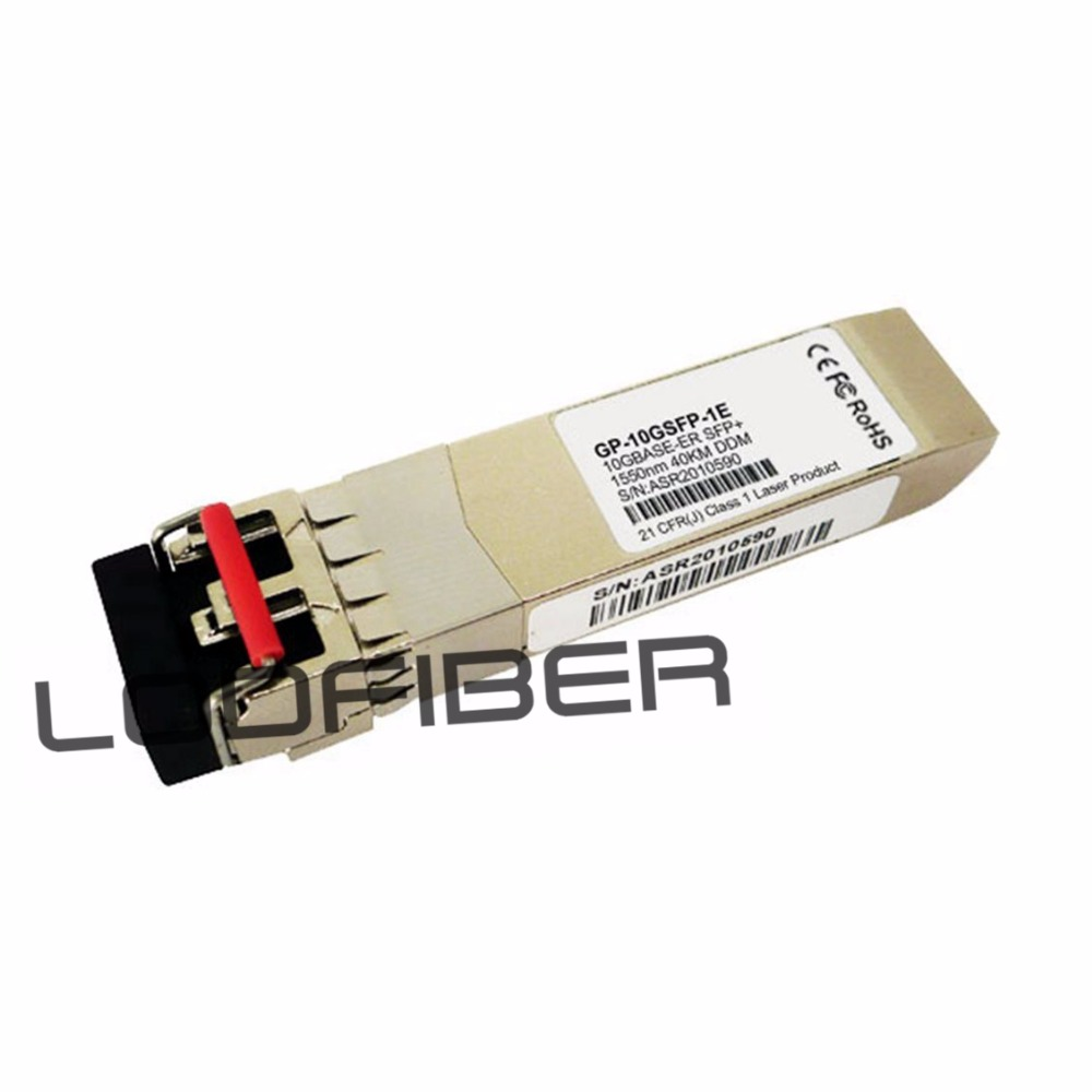 Dell Force10 Networks GP-10GSFP-1E Compatible 10GBASE-ER SFP+ 1550nm 40km DOM TransceiverDell Force10 Networks GP-10GSFP-1E Compatible 10GBASE-ER SFP+ 1550nm 40km DOM Transceiver