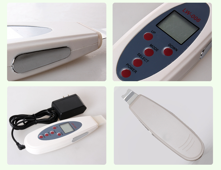 Limpador ultrassônico do purificador da pele do