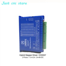JMC stepper motor driver 2HSS57 Input Voltage Hybrid DC24-48V Match with 57 Series Hybrid Motor Current 1.0-4.2A CNC kit цена