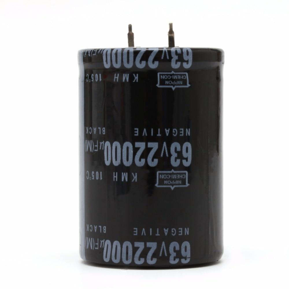 22000UF 63V Aluminum Electrolytic Capacitor 105C Dimension 35x50mm Cylindrical22000UF 63V Aluminum Electrolytic Capacitor 105C Dimension 35x50mm Cylindrical