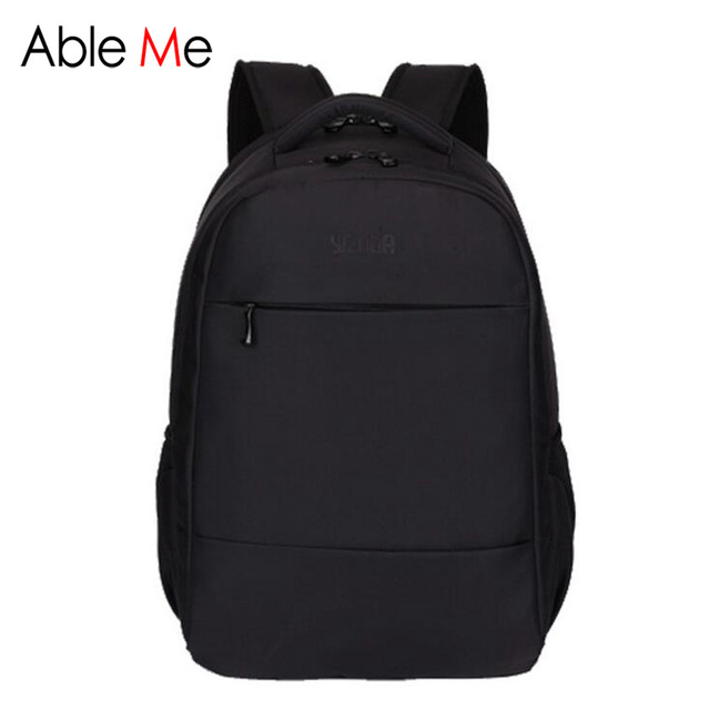 Nylon Waterproof Men Backpack High Quality For Computer Pocket Shockproof Protective Laptop Backpack Multifunction Back Bag