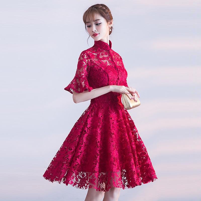 Qipao Wedding Gown: Aliexpress.com : Buy Chinese Wedding Dress Short Cheongsam