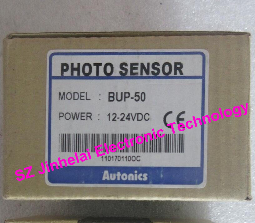 New and original   BUP-50 , BUP-50-P   AUTONICS   PHOTO SENSOR  12-24VDC