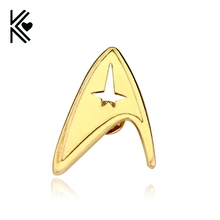 Star Trek Into Darkness G Plated Badge Science Museum Brooch Pins Free Shipping Popular Women And Men Brooches Pins Jewelry