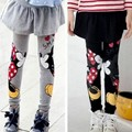 Cartoon Minnie Legging For Girl Slim Skirt Pants Spring Thin leggings Girls Pantskirt Ski Pants Roupas Infantis Menina KD118