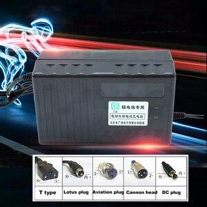 Image 2 - Chargeur de batterie au Lithium 60V 10A ebike Li ion Lipo Lifepo4 Li ion 16S 20S 21S 67.2V 71.4V 76.6V rapide pour moteur de vélo électrique