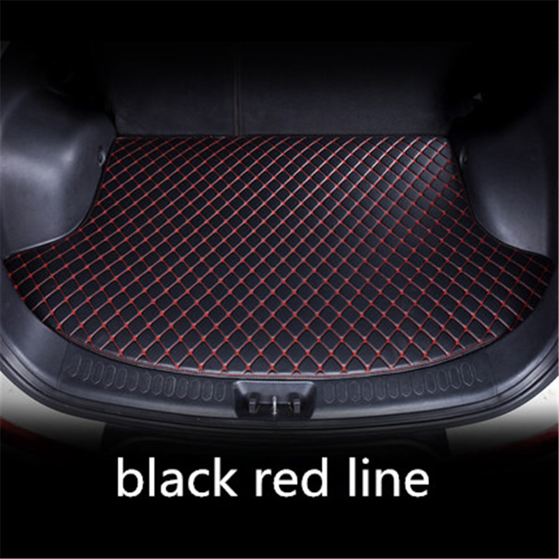 Car Trunk Mats For Mercedes Benz W203 S203 CL203 W204 S204 C204 W205 S205 C Class C180 C200 C300 Car Styling Liners