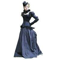 18 המאה מלחמת אזרחי הדרום Belle שמלת וינטג 'שמלה/שמלות ויקטוריאני/סקרלט שמלת US6-26 SC-296 דיגיטליים MOBIE