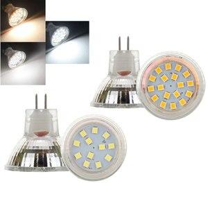 Image 1 - LED Spotlight MR11 2 W 3 W 35 มม. หลอดไฟ LED หลอดไฟ LED โคมไฟ GU4 Bombillas DC 12 V 24 V 2835 SMD Led แสงสีขาวโคมไฟ