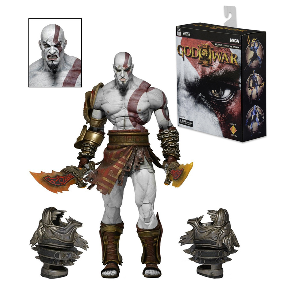 Neca God of War 3 Ultimate Kratos 6 inch Action Figure Collector Toy New FDSEGV PVC Anime Model Christmas Gift new hot christmas gift 21inch 52cm bearbrick be rbrick fashion toy pvc action figure collectible model toy decoration