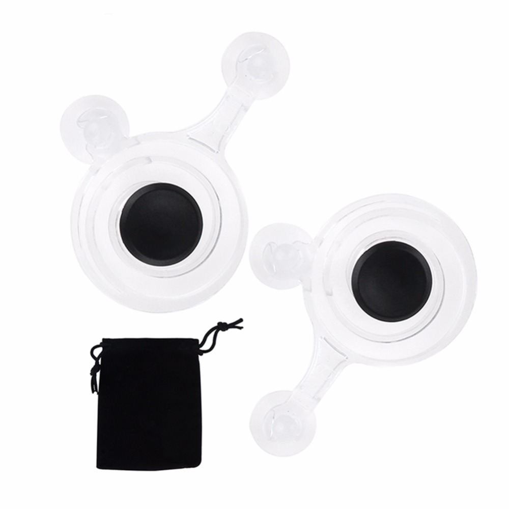 2pcs/pack Touch Screen Joystick Mobile Phone Game Joystick with Cloth Bag Paper Box for Phone Tablet Arcade Games Transparent(China (Mainland))