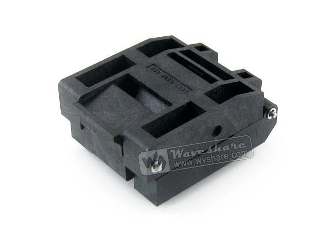 цена на 2018 Sale Promotion Module Ic51-0804-808-14 Yamaichi Test Socket 0.5mm Pitch Qfp80 Tqfp80 Fqfp80 Pqfp80 Package