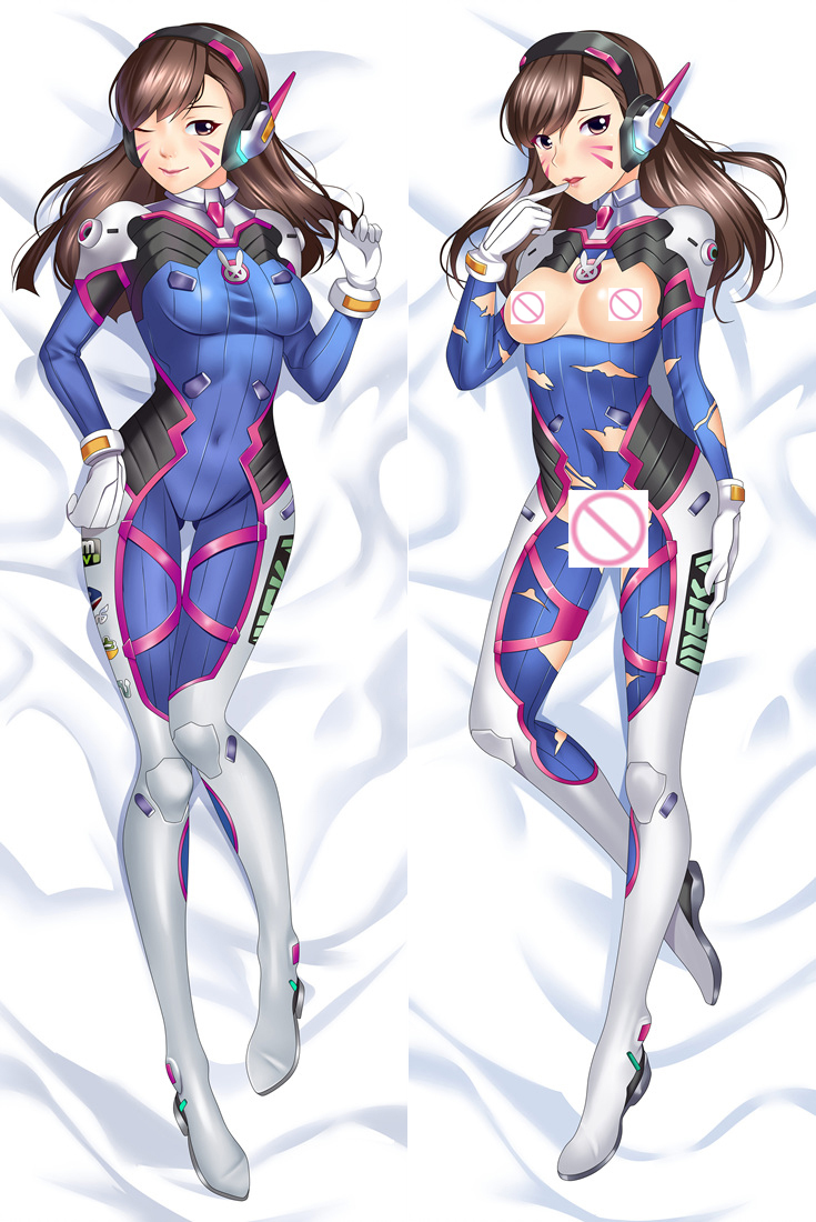 All Overwatch Girls Naked us $19.79 10% off|hot shooter game charactor pharah fareeha amari tracer  lena oxton widowmaker amelie lacroix d.va hana song body pillowcase  cover-in