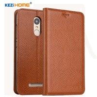 KEZiHOME For Xiaomi Redmi Note 3 Flip Genuine Leather Soft Silicon Back For Xiaomi Redmi Note
