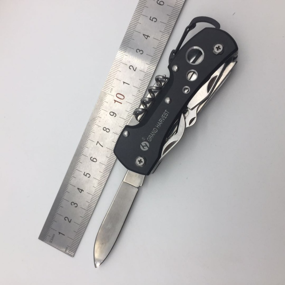 Nerūdijančio plieno daugiafunkcinis peilis, sulankstomas - Rankiniai įrankiai - Nuotrauka 6