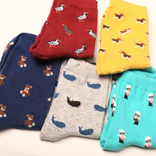 2019 Fall Korean Plus Size Cute Kawaii Brand Socks Streetwear Women Sock Animal Casual Socks Fashion Cotton Harajuku Funny Socks цены