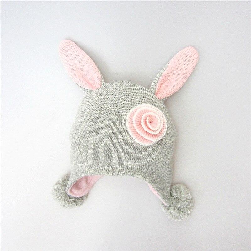 Invierno Bebé estilo de dibujos animados sombrero del ganchillo de ...