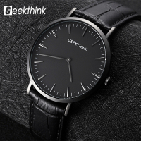 Men S Watch Top Brand Luxury Quartz Watch Business Casual Black Japan Quartz Watch Men Genuine