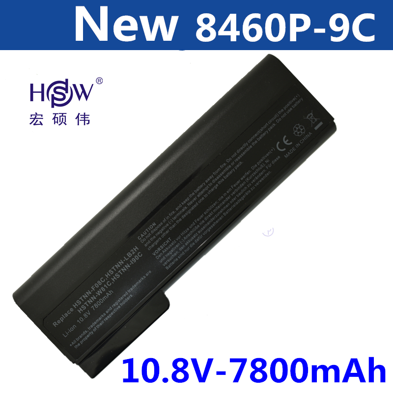 HSW Laptop <font><b>Battery</b></font> for Hp ProBook 6460b 6470b 6560b 6570b 6360b 6465b 6475b 6565b 8460p 8470p 8560p 8460w 8470w <font><b>8570p</b></font> <font><b>battery</b></font> image