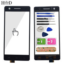 TouchScreen Front Glass Touch Screen For Infinix HOT S X521 Touch Screen Digitizer Replacement 5.2'' Mobile Tools Adhesive(China)