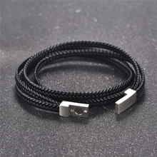 Fashion and Genuine Leather Bracelet