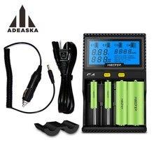 Оригинальный miboxer ЖК-дисплей Батарея Зарядное устройство для Li-ion/IMR/inr/icr/LiFePO4 18650 14500 26650 AAA 3.7 1.2 В 1.5 В Аккумуляторы