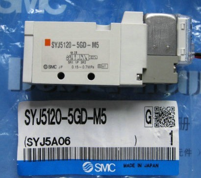 BRAND NEW JAPAN SMC GENUINE VALVE SYJ5120-5GD-M5 brand new japan smc genuine valve vs4130 034